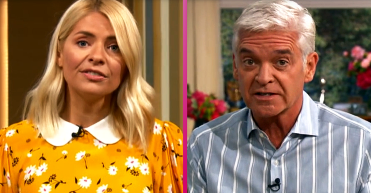 Holly Willoughby and Phillip Schofield return to This Morning