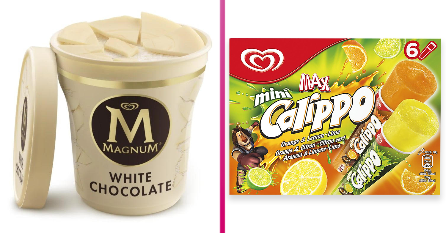 Magnum ice cream and Calippos are being urgently recalled from UK supermarkets
