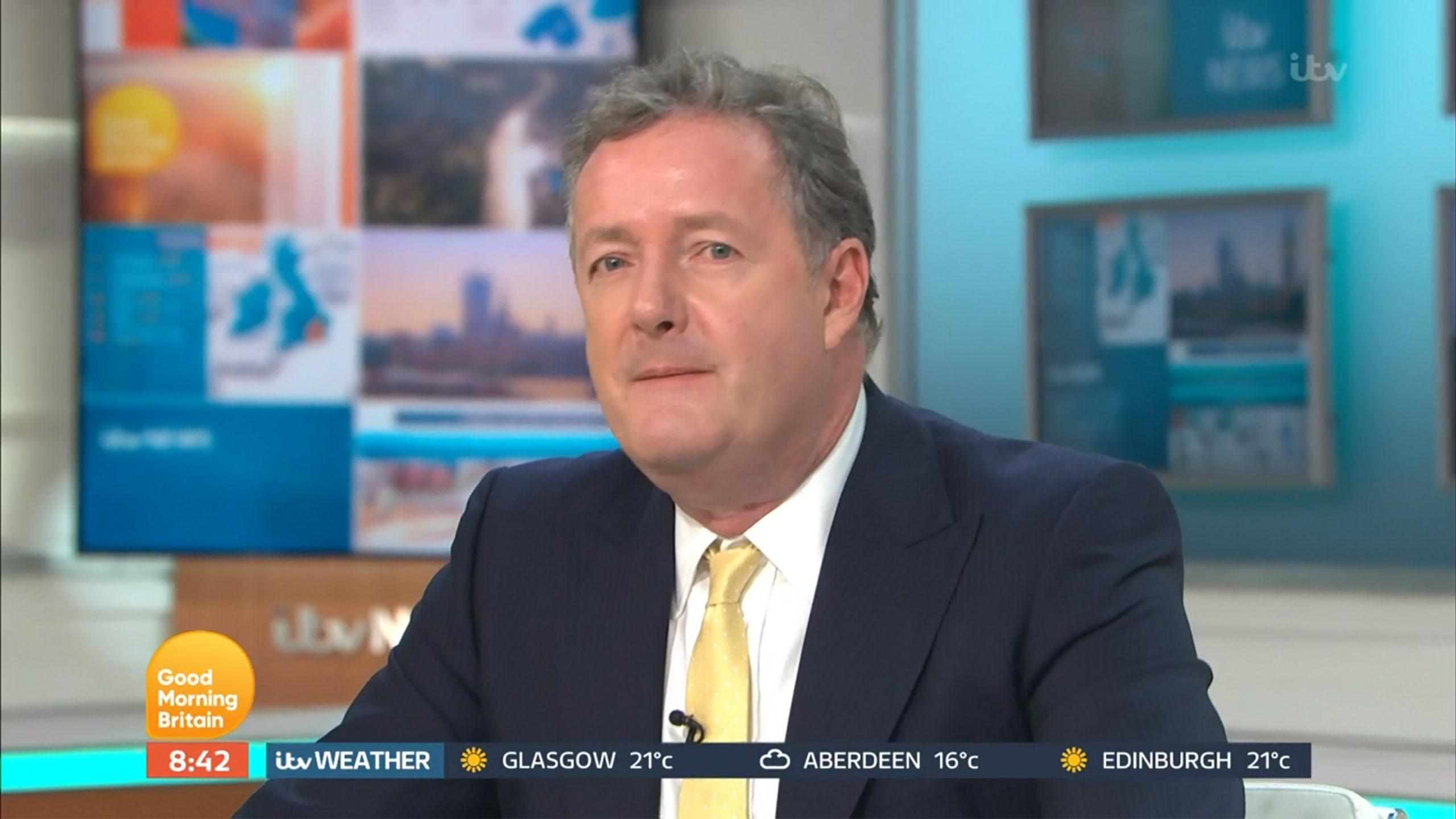 Piers Morgan fat shamed