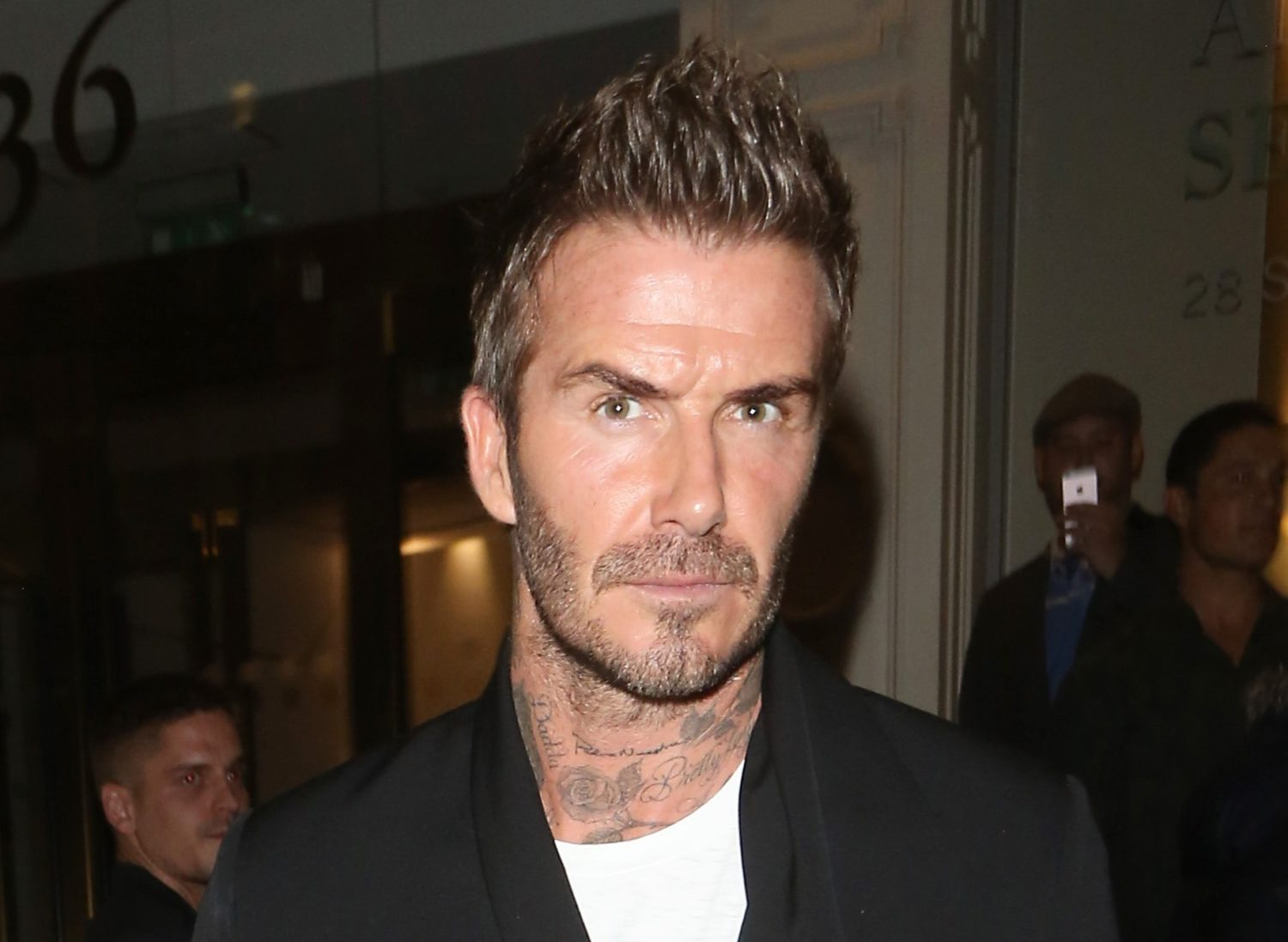 David Beckham 'makes hour round trip to pick up fish and chips for family'