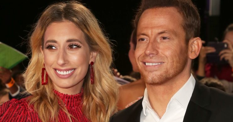 How did Stacey Solomon and Joe Swash meet?