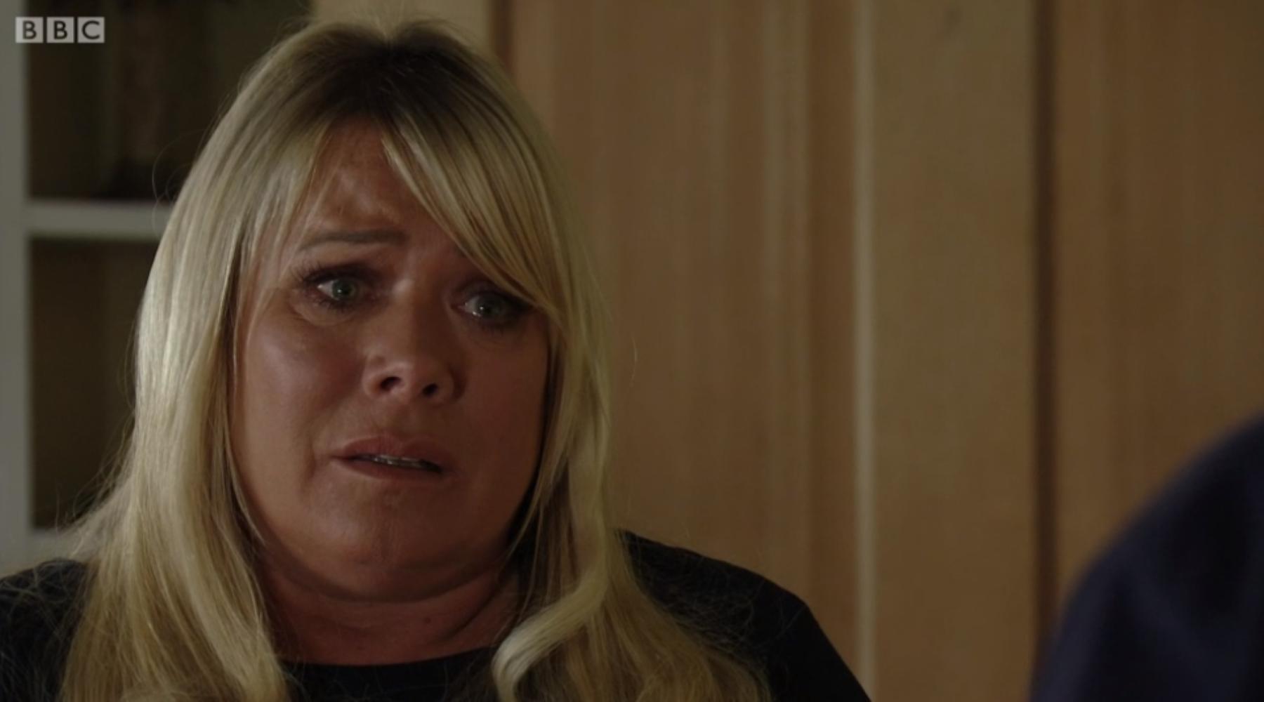 Leticia Dean plays Sharon
