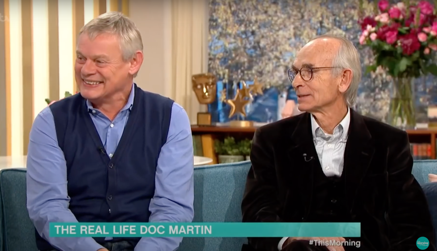 Martin Clunes and Dr Martin Scurr