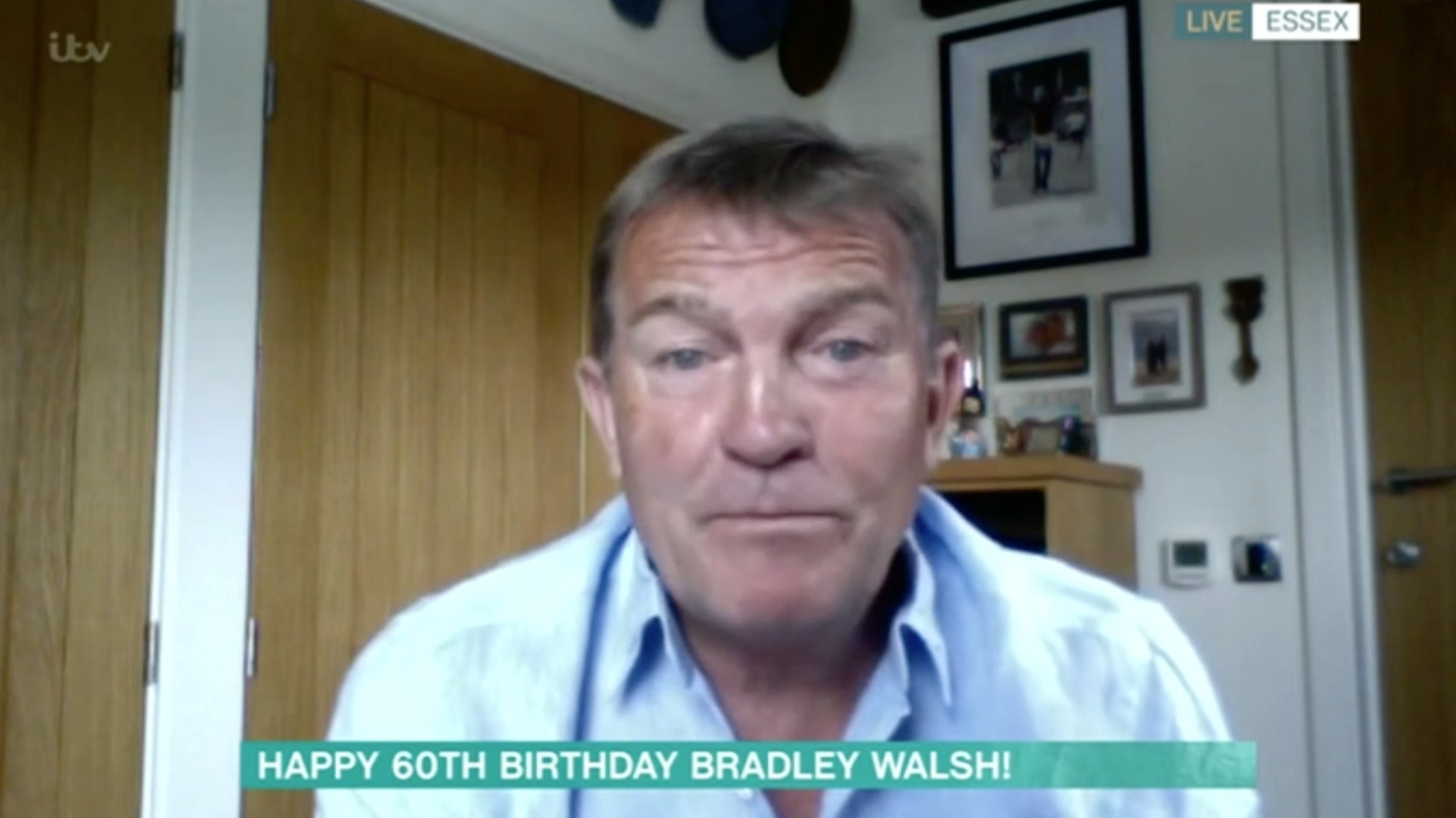 Bradley Walsh reveals he's put on a stone in lockdown and is the 'heaviest' he's 'ever been'
