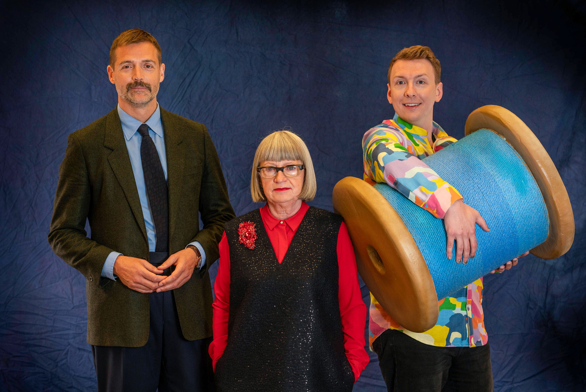 Presenters of The Great British Sewing Bee