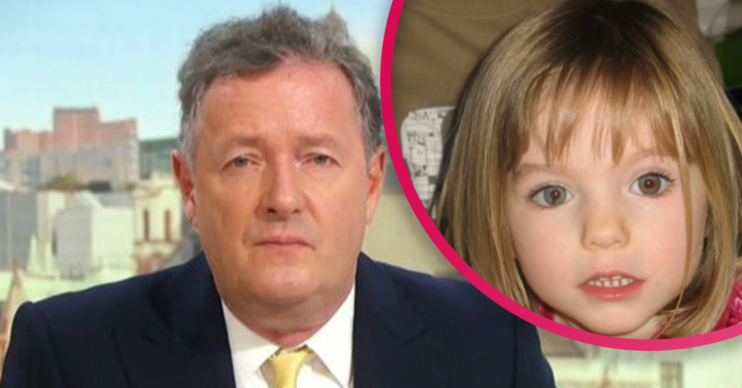 Piers Morgan blasts GMB fans for trolling Madeleine McCann's parents