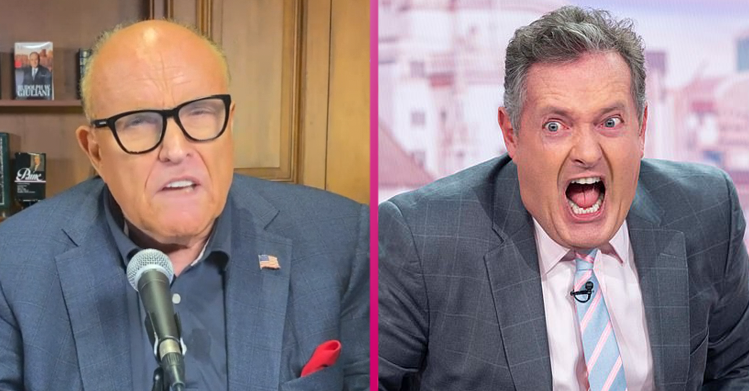 GMB fans side with Rudy Giuliani and blast 'lying' Piers Morgan after car crash interview