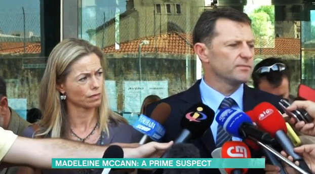 Kate and Gerry McCann This Morning Credit: ITV