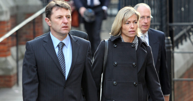 Madeleine McCann parents Gerry and Kate