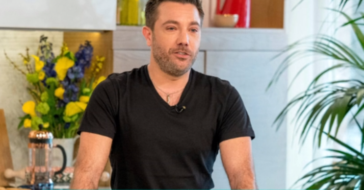 Gino D'Acampo This Morning Credit: ITV