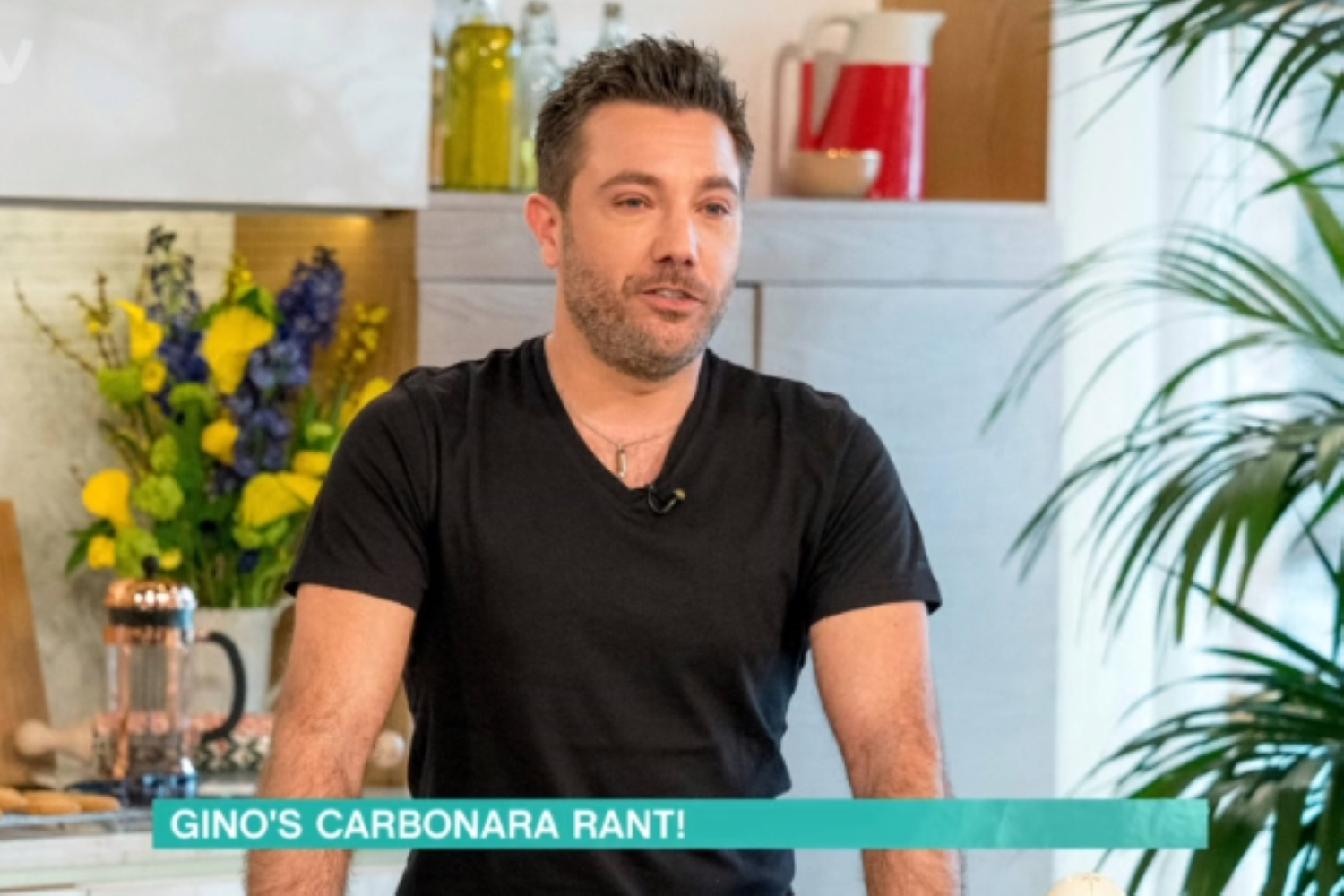 Gino D'Acampo slams dish as 'fit for doggies' in This Morning rant