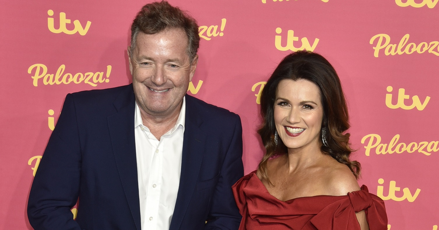 Susanna Reid 'speechless' after asking Piers Morgan about secret to long marriage