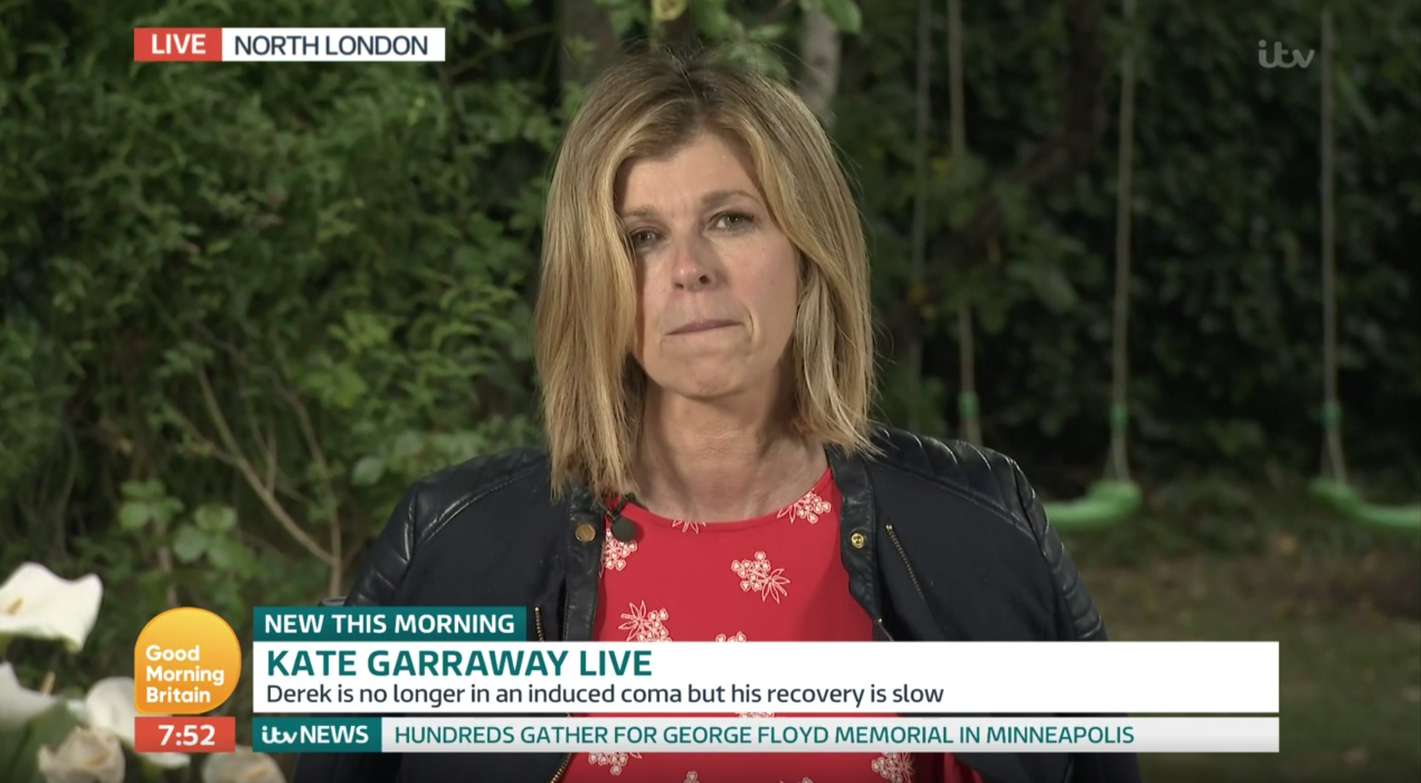 Kate Garraway reveals husband Derek's heartbreaking final words before coma on GMB