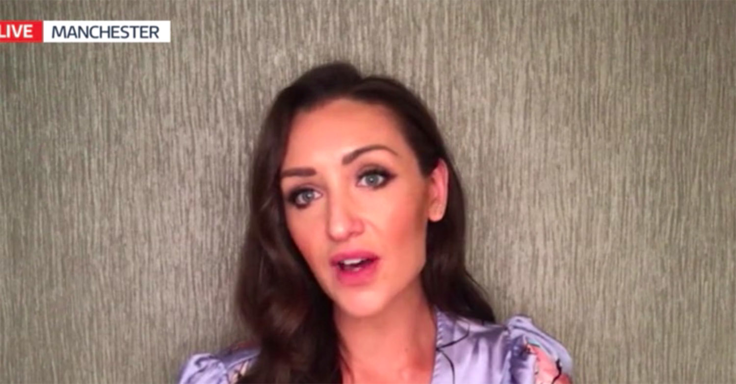 Catherine Tyldesley reveals her grandfather has died from coronavirus