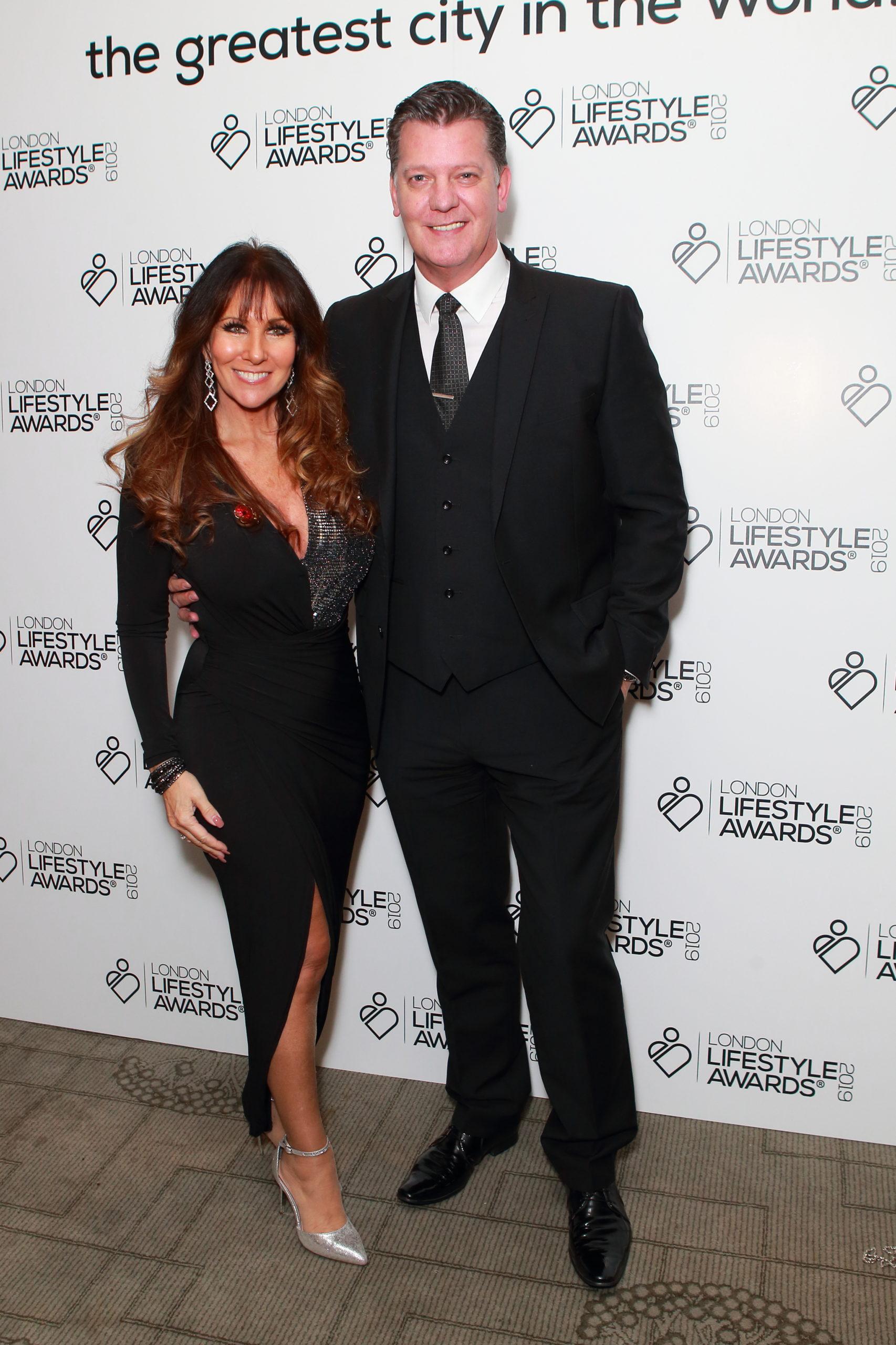 Linda Lusardi and husband Sam