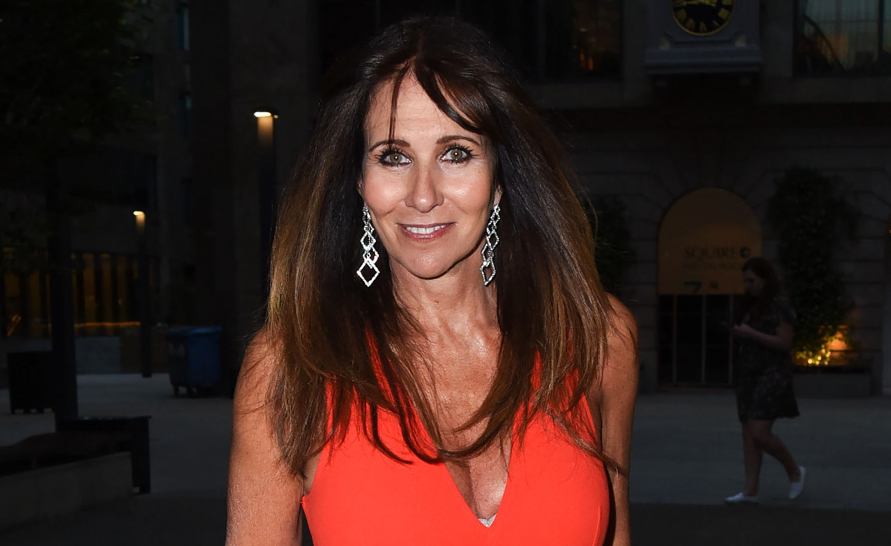 Linda Lusardi believes coronavirus could be 'man made' as her vomit was BLUE