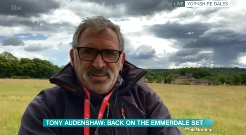 Tony Audenshaw on This Morning Credit: ITV