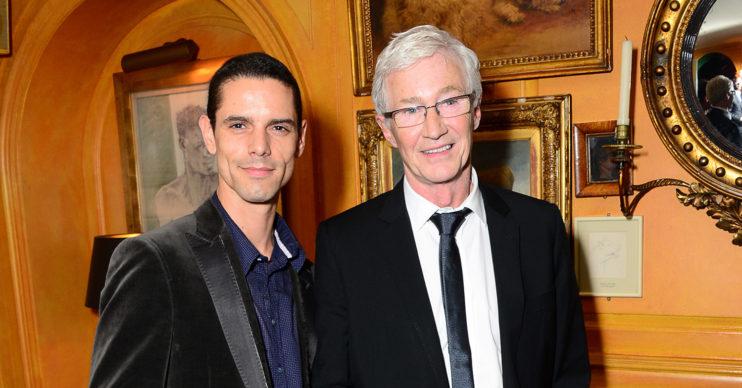 Paul O'Grady with husband Andre Portasio