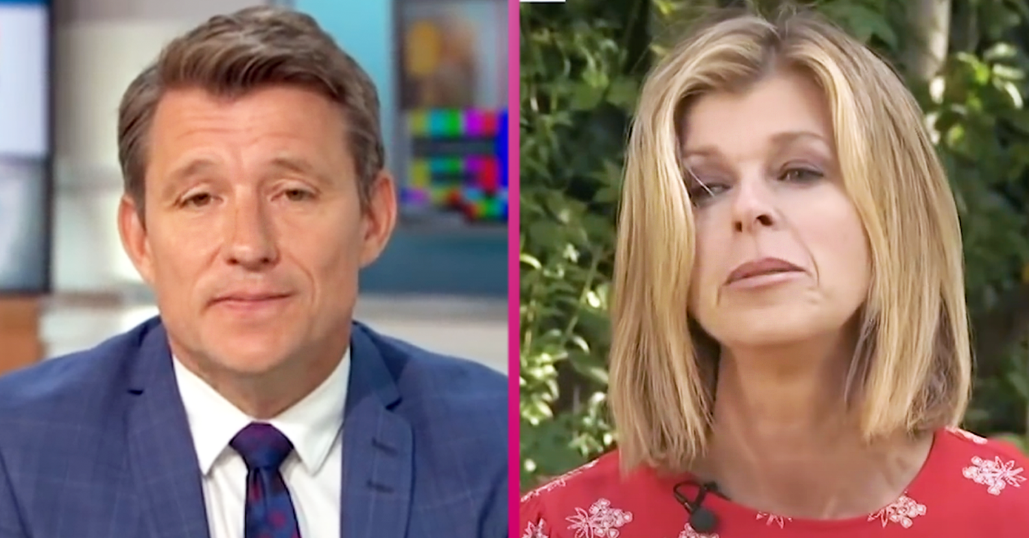 Ben Shephard addresses supporters after emotional TV reunion with Kate Garraway