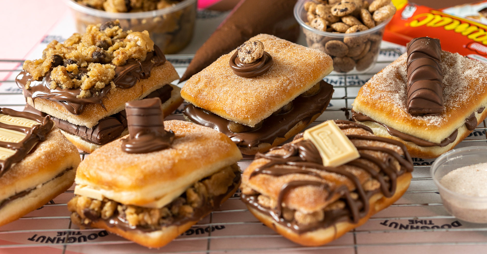 The doughnut SANDWICH exists and you can get it delivered straight to your door