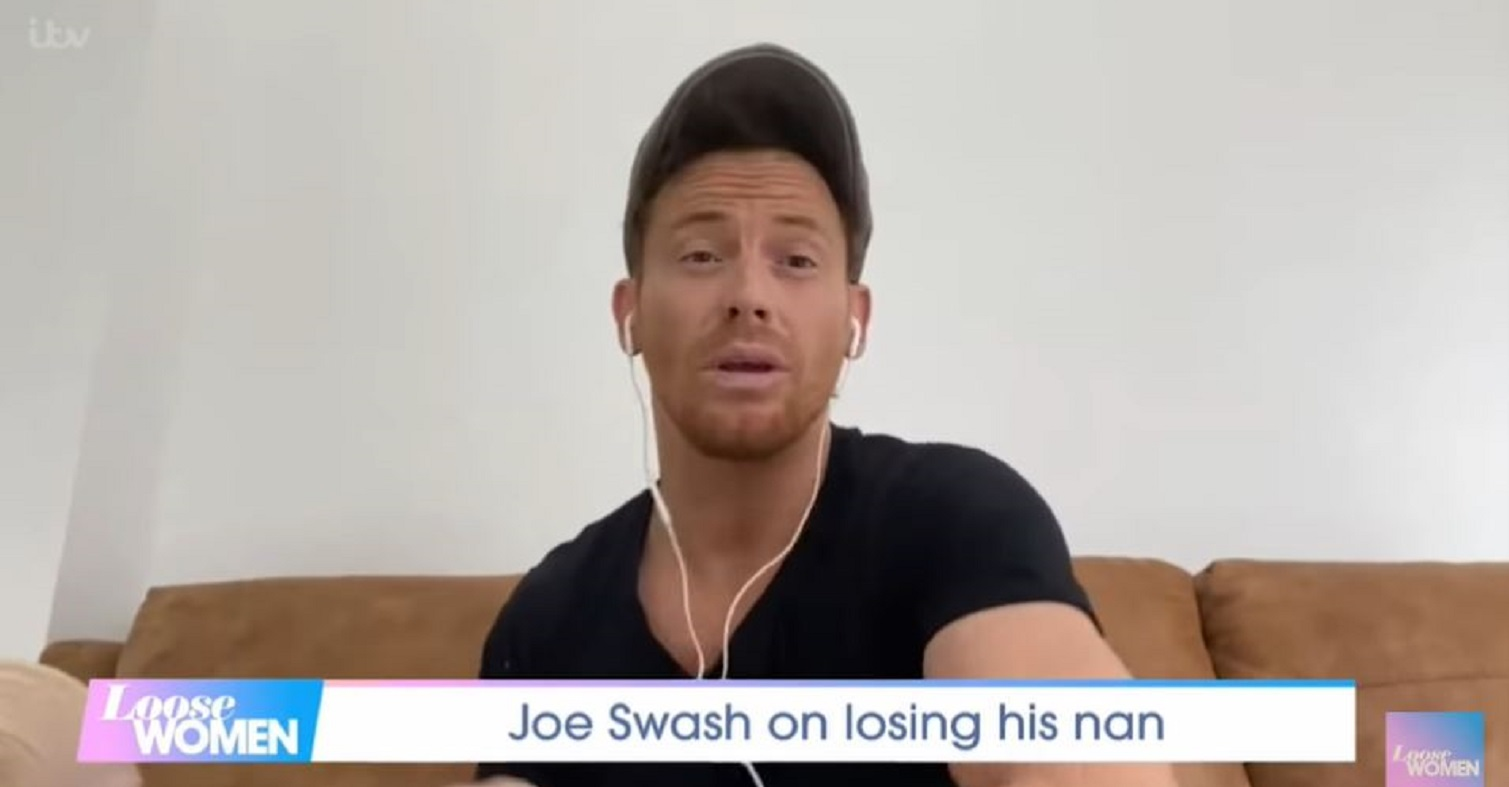 Joe Swash reveals regret at being unable to fulfil his nan's final wish in Loose Women chat