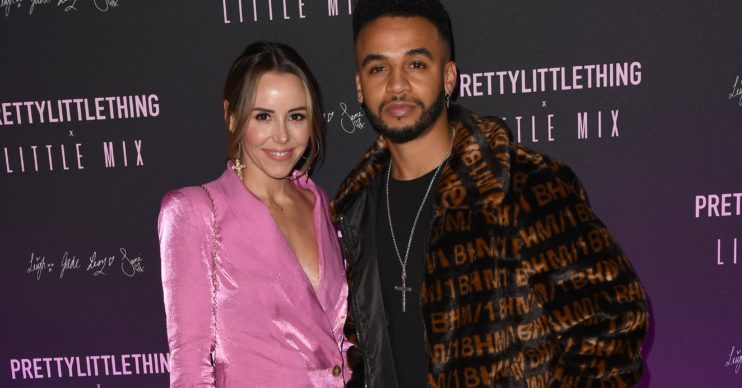 Aston Merrygold and Sarah Richards Credit: Splash News