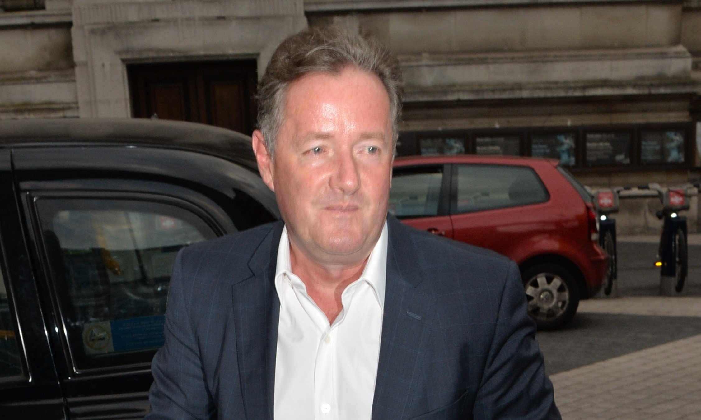 Piers Morgan admits to being caught speeding by police