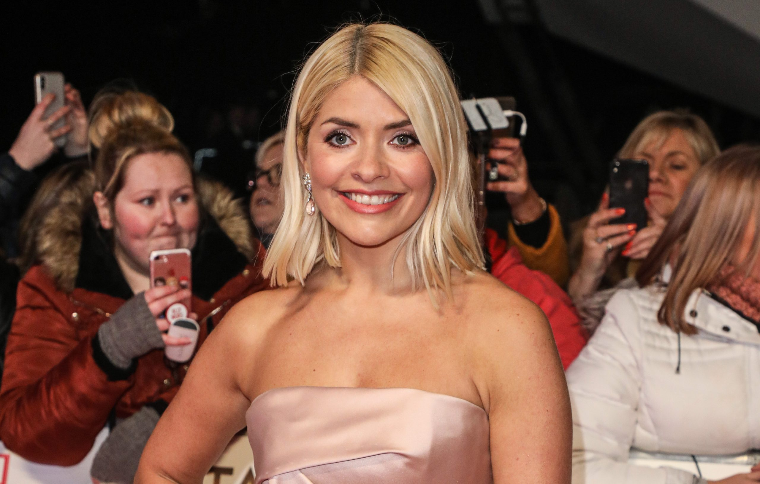 Holly Willoughy barbecues in the rain
