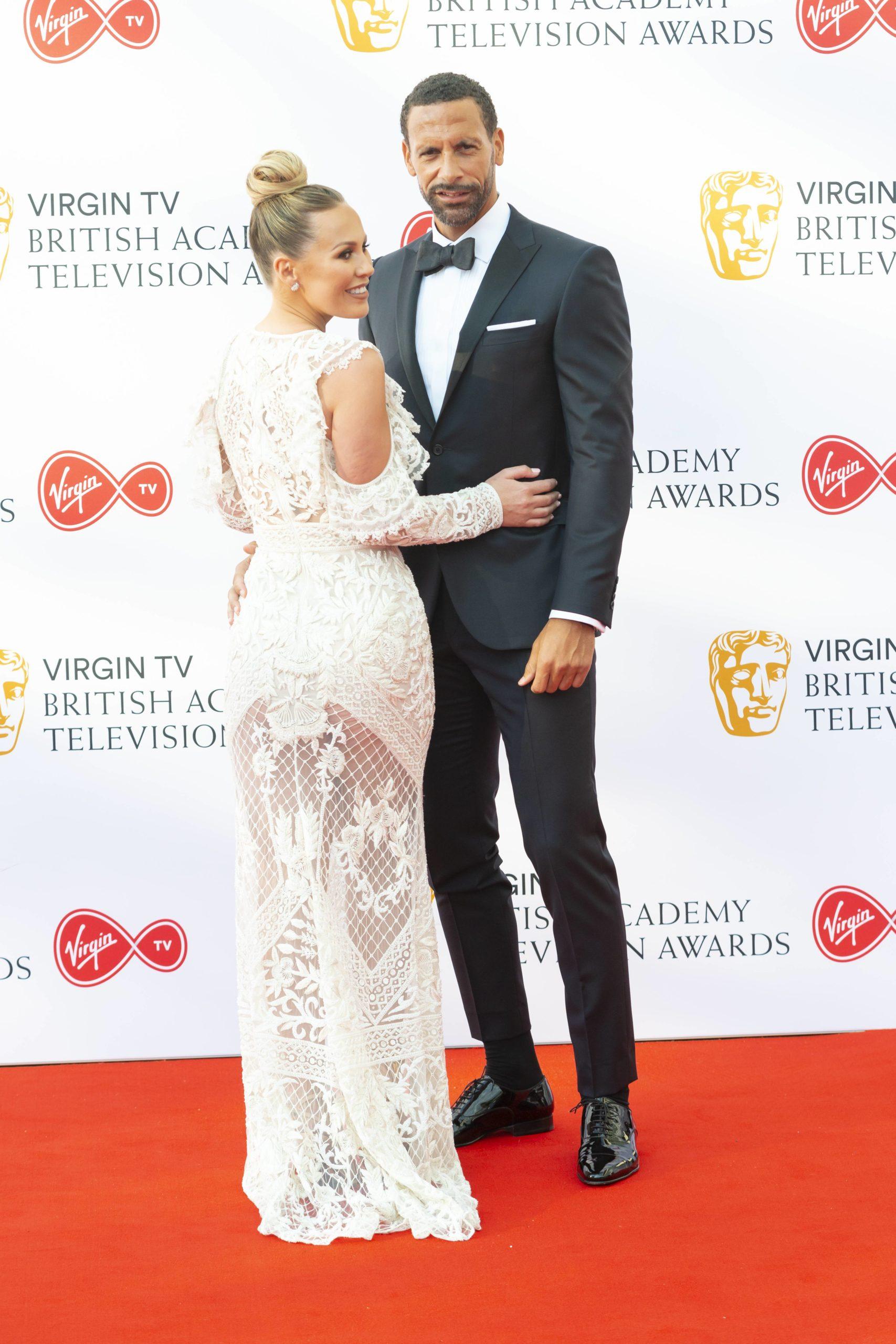 Kate Ferdinand Rio Ferdinand TV Awards
