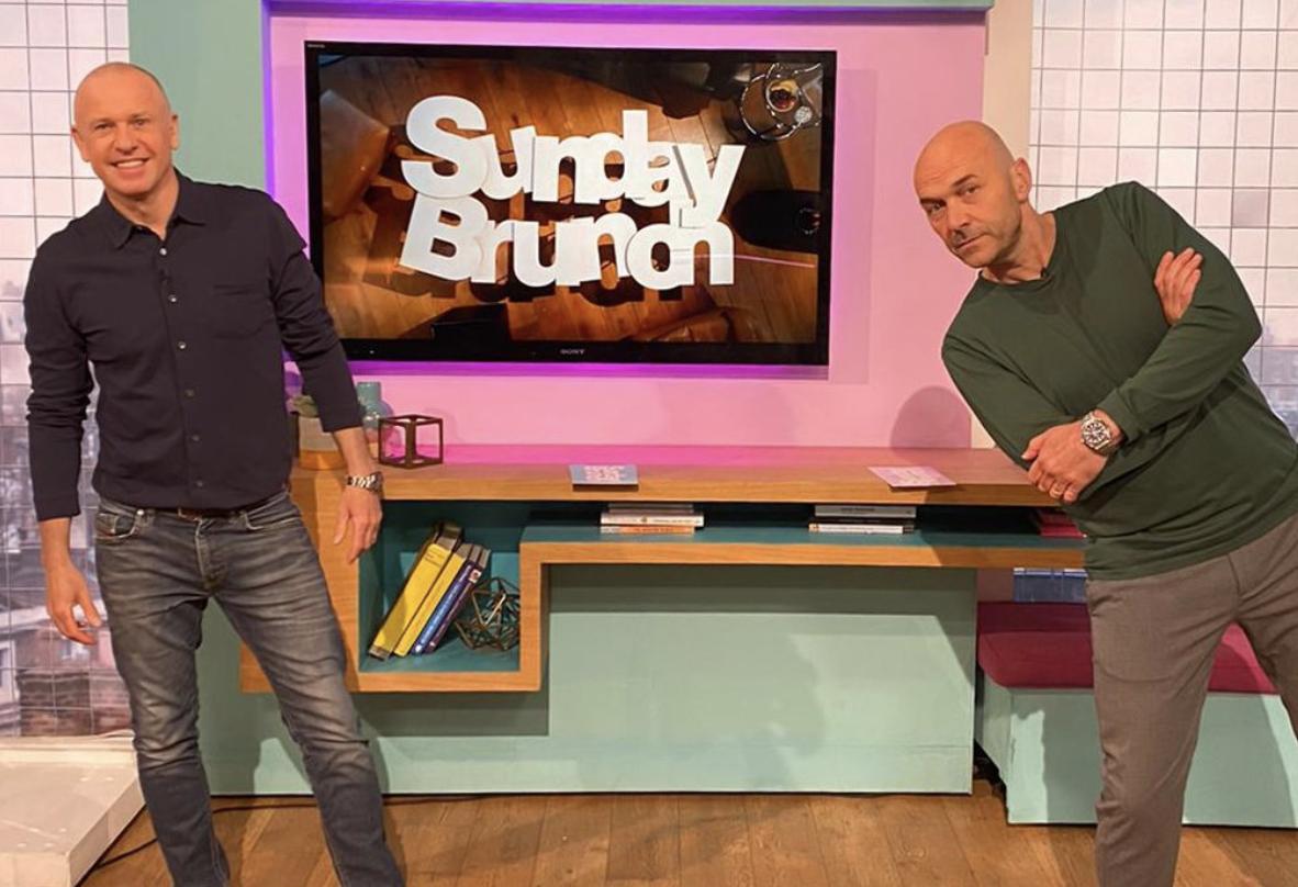 Sunday Brunch Tim Lovejoy and Simon Rimmer