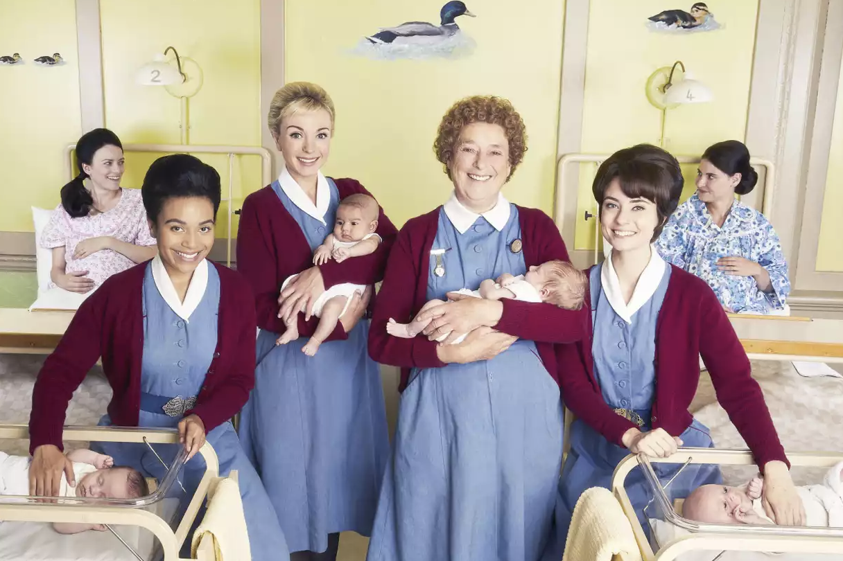 Call the Midwife full cast BBC