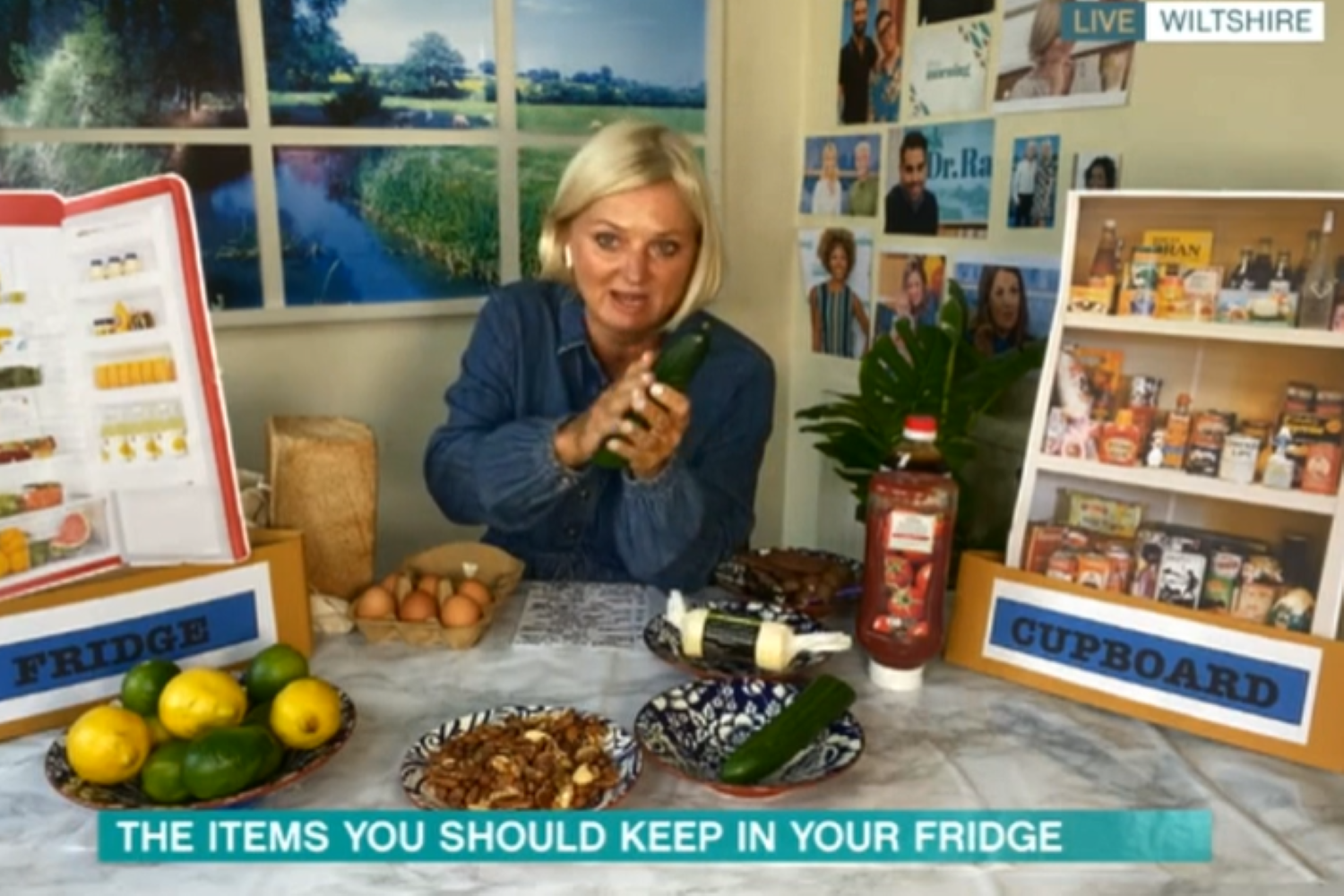This Morning fans horrified as Alice Beer says you must keep cucumber out of the fridge