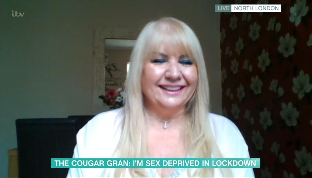 Cougar gran on This Morning
