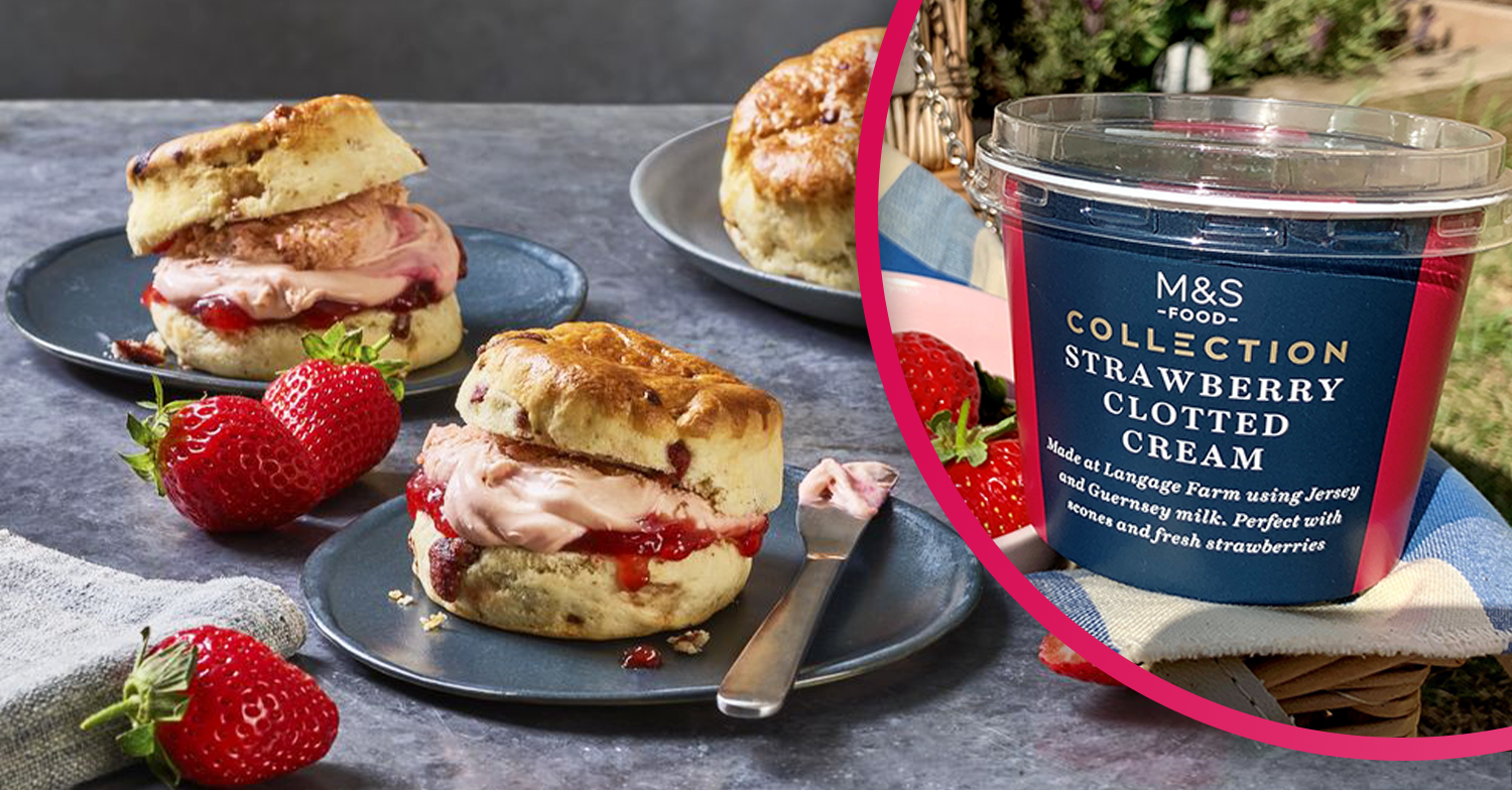 M&S sparks outrage as it launches new Strawberry Clotted Cream for scones