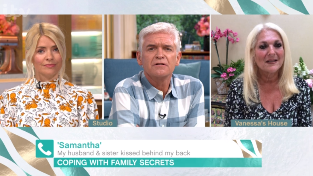 Holly and Phillip Schofield on This Morning