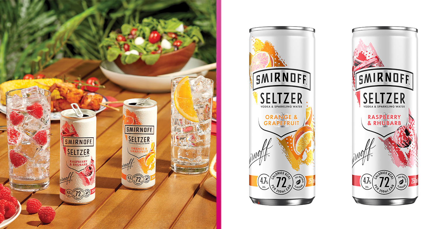 Smirnoff launches range of fruity tinned drinks that are perfect for summer