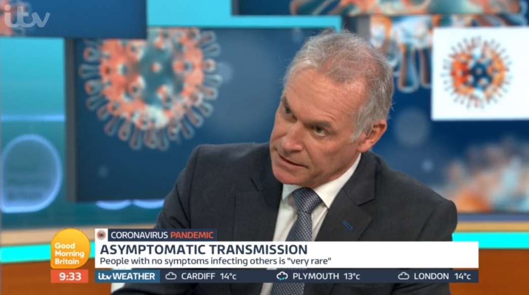 Dr Hilary on GMB