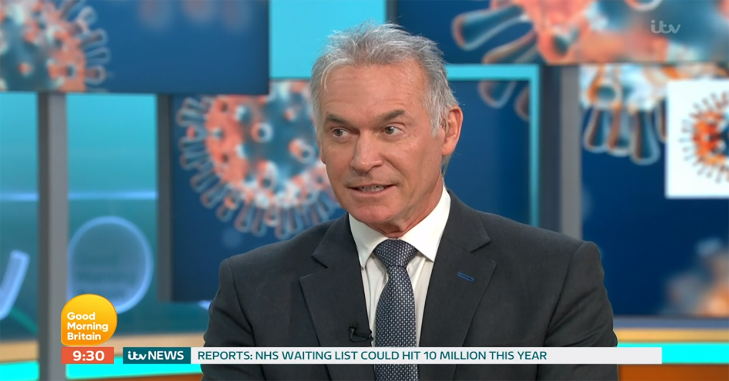 Viewers divided as Dr Hilary Jones suggests teachers work weekends