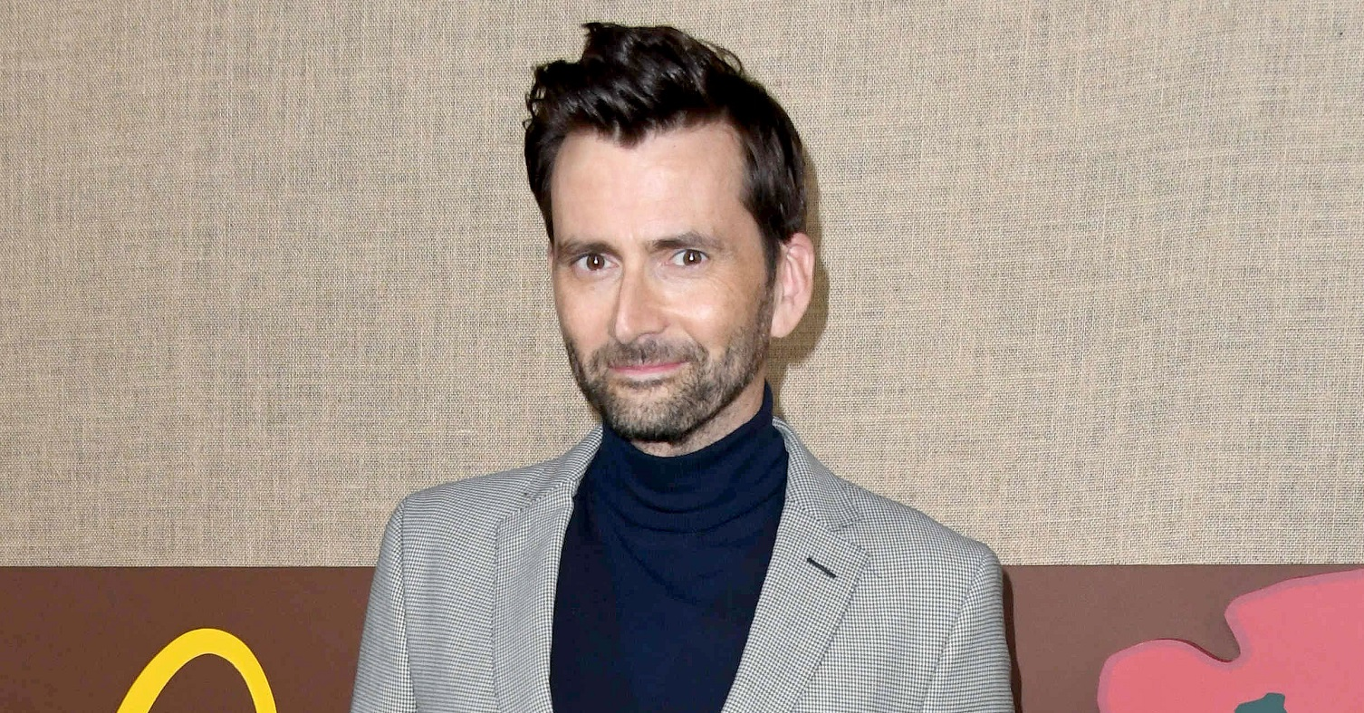 The One Show: Actor David Tennant shows off dramatic new look