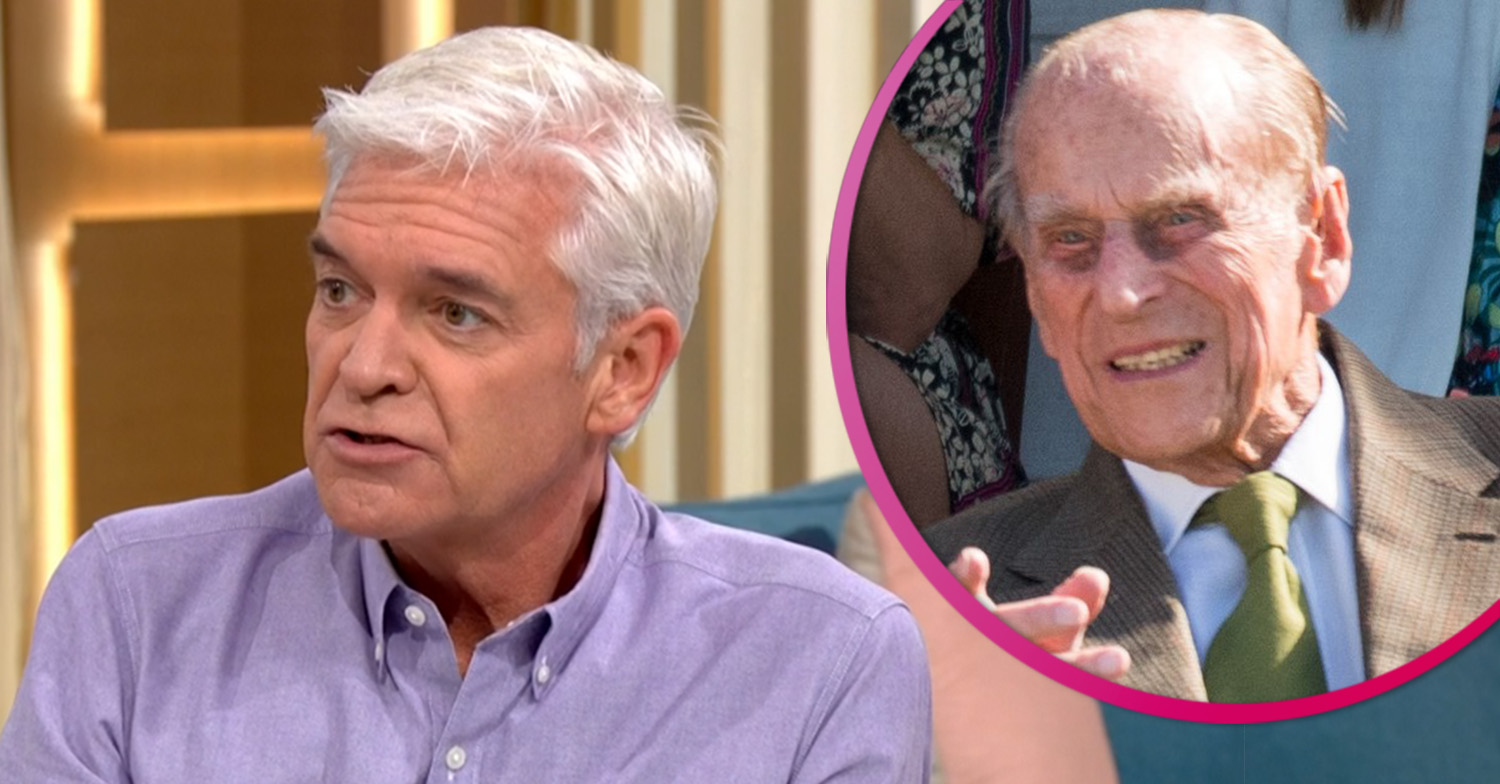 Phillip Schofield reveals hilarious moment Prince Philip called him an 'idiot'