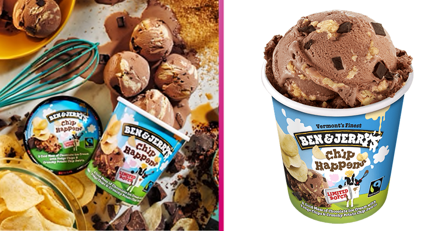 Ben & Jerry's launches new chocolate ice cream infused with crunchy CRISPS