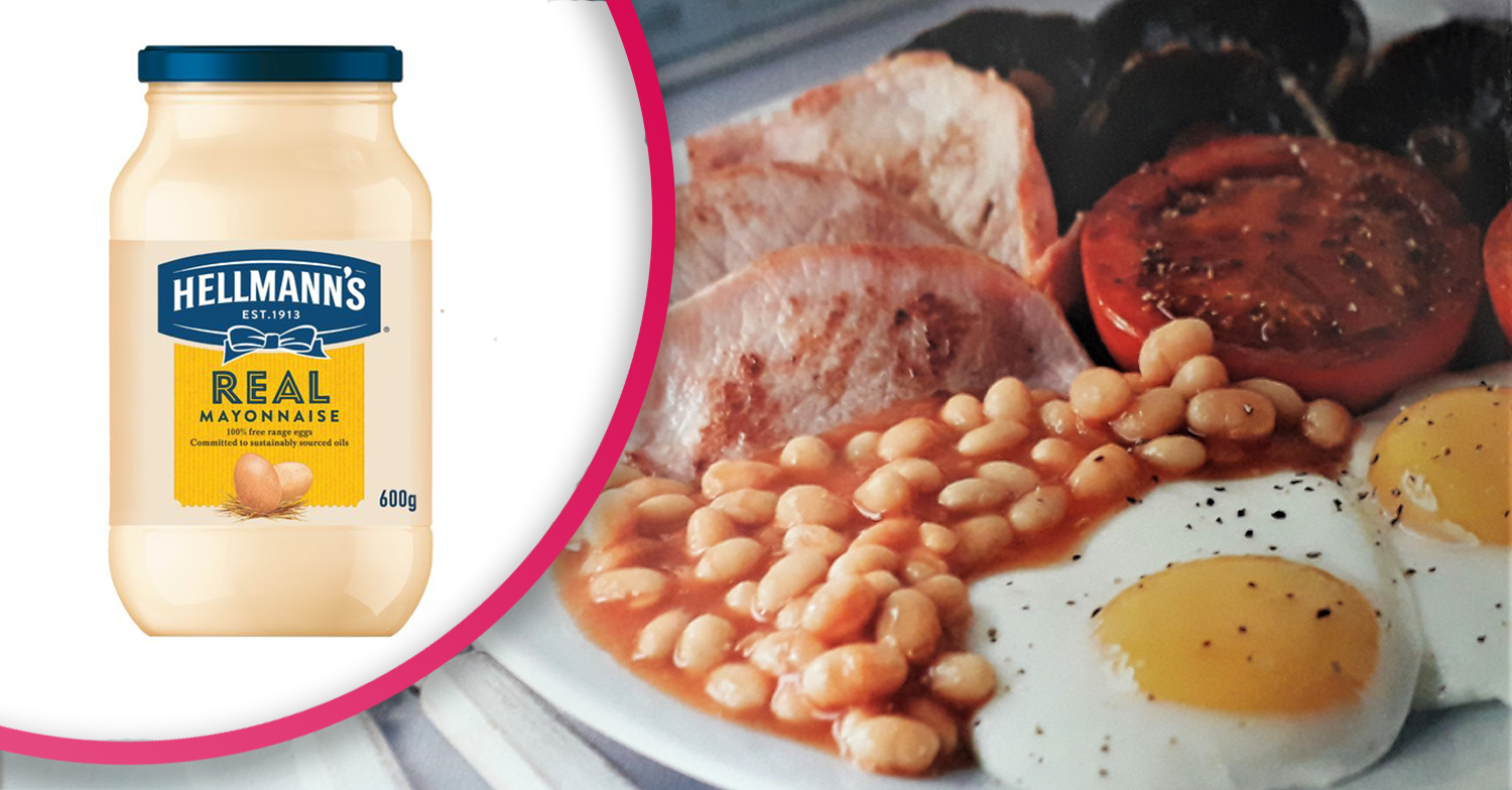Woman slammed after revealing she puts mayonnaise on her fry up