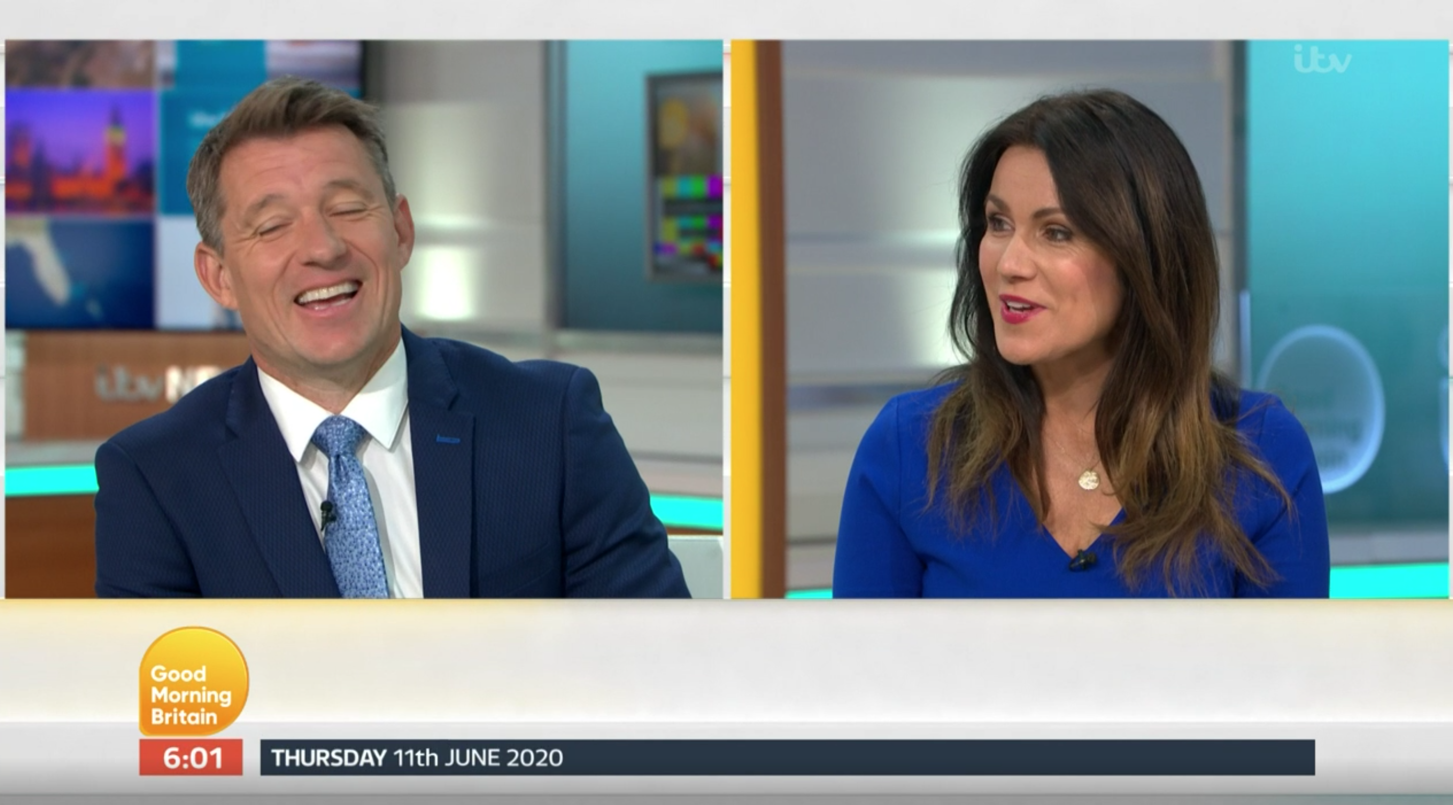 Piers Morgan replaced by Ben Shephard on GMB