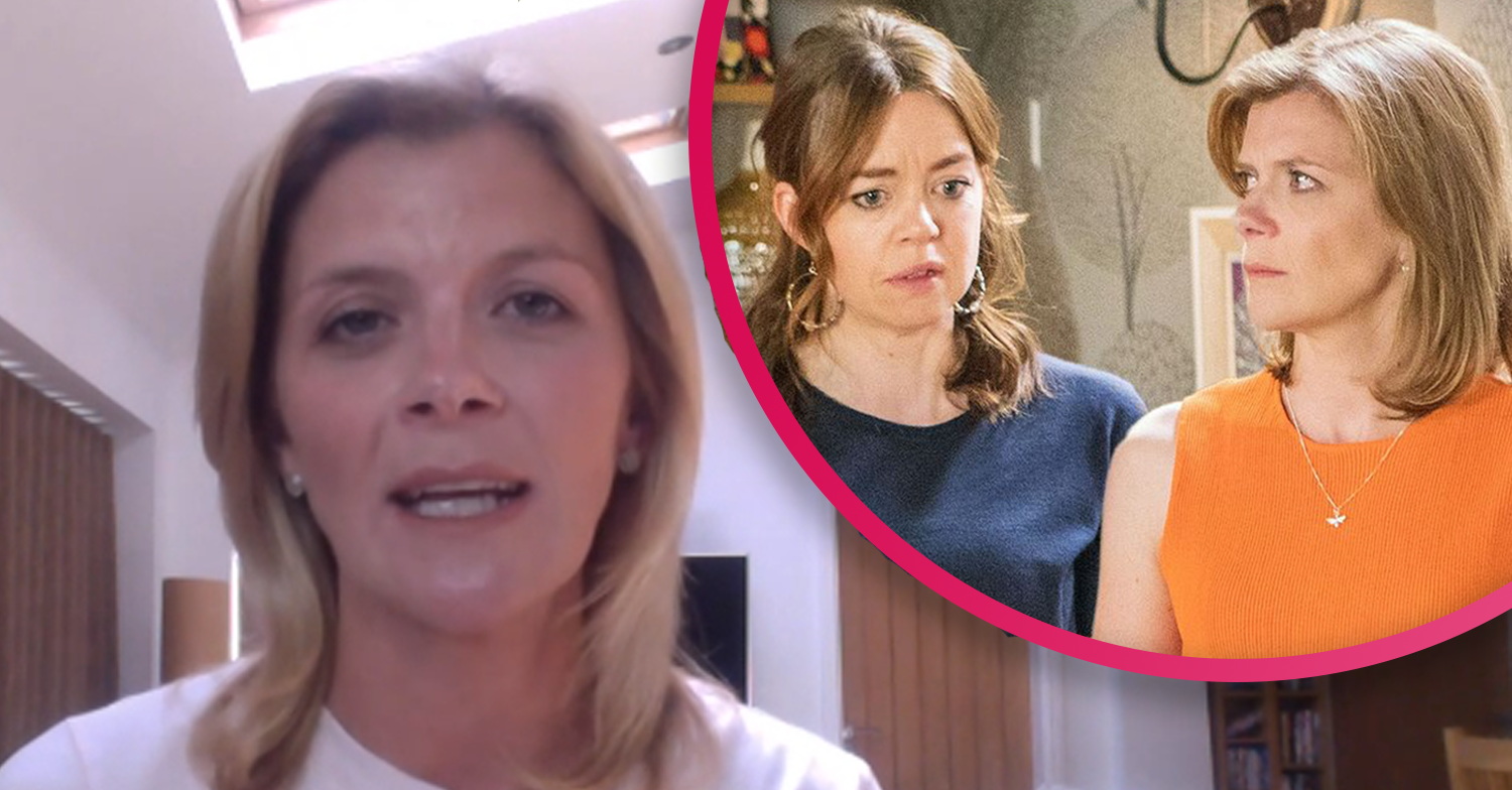 Coronation Street star Jane Danson discusses 'eerie' return to work during GMB interview