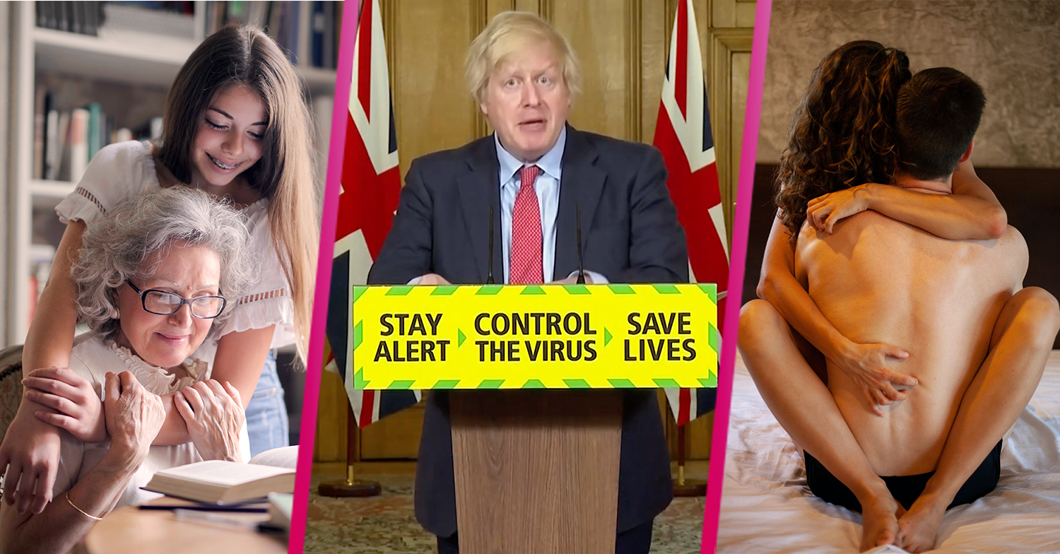 What are Boris Johnson's 'support bubbles'? New lockdown measures explained