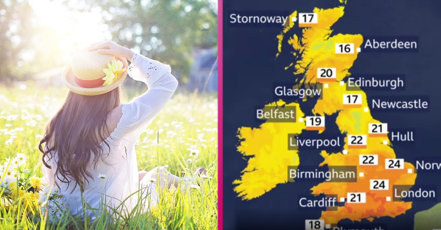 UK weather: Brits will enjoy highs of 26C as an eight-day heatwave kicks off this weekend