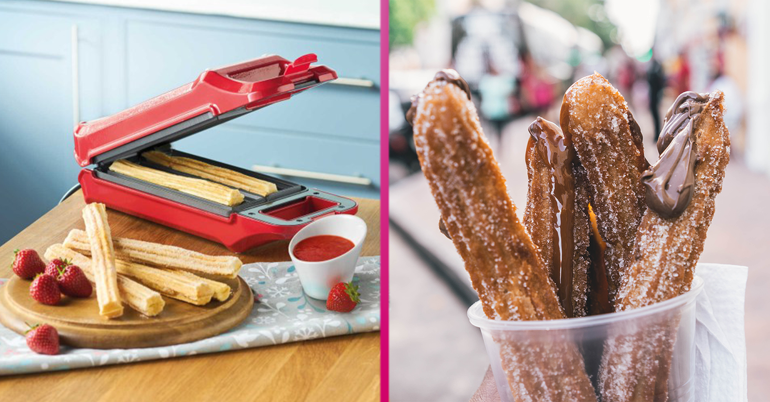 The sell-out churro maker is back in store NOW at Aldi and it's a total bargain