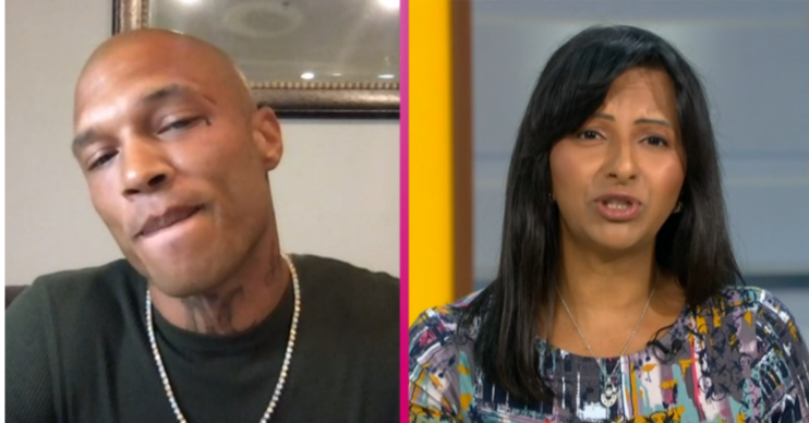 Jeremy Meeks hot felon GMB (Credit: ITV)