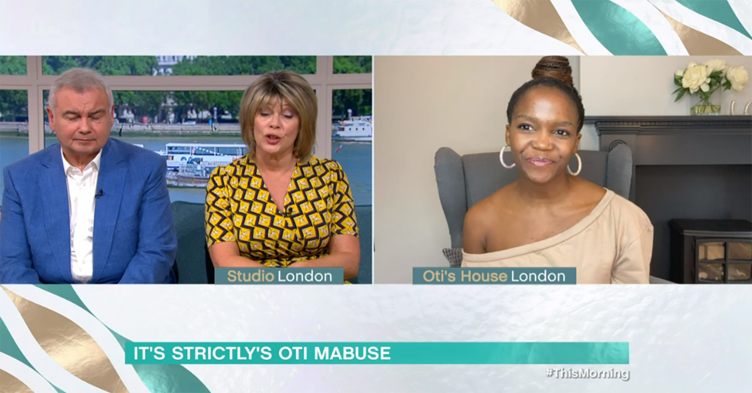 This Morning viewers mock Eamonn Holmes as he gets Oti Mabuse's name wrong