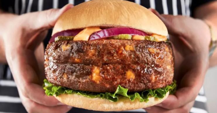 Iceland Big Daddy Cheeseburger